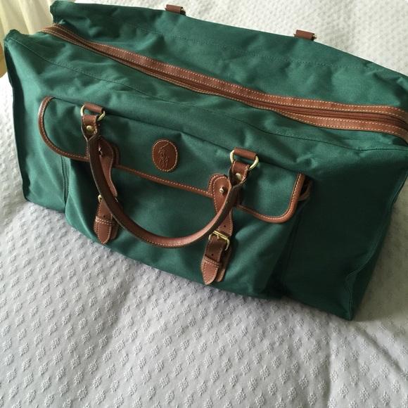 Polo Ralph Lauren • Large Duffel Bag Travel Bag. M 5ad65a5a45b30c57e480669a fd9174fe2def0